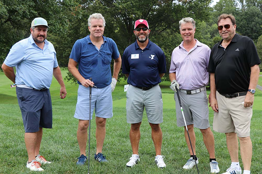 News - Community - GMG Team With Zane At 2020 YMCA of Bucks County Golf Outing